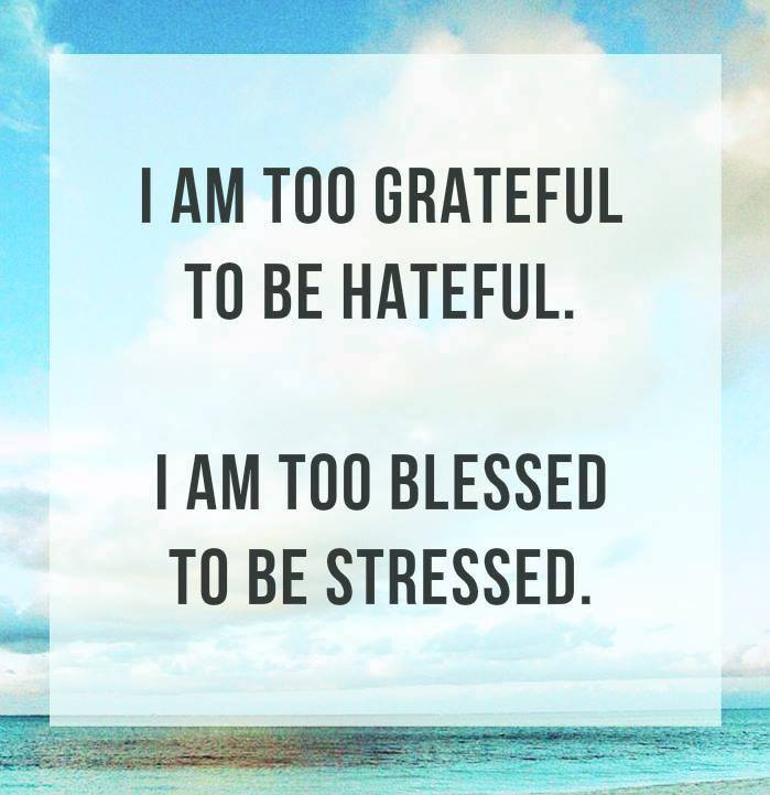 too blessed i am too blessed to be stressed the christian conservative